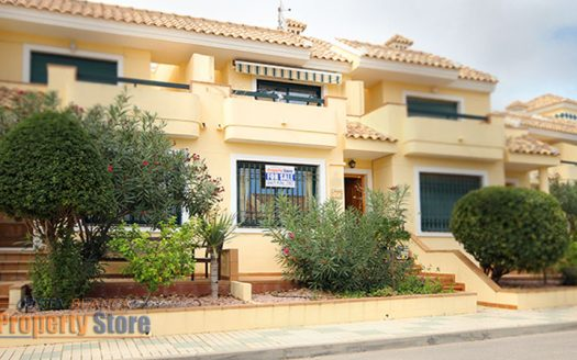 2 bed townhouse in campoamor