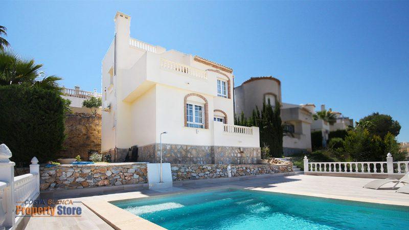 3 Bed Villa in Las Ramblas with Studio Apartment
