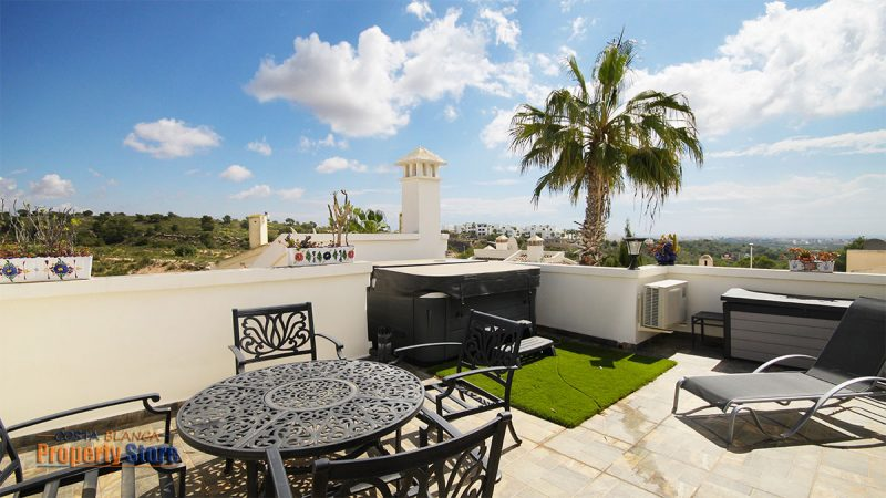 luxury 4 bed villa las ramblas